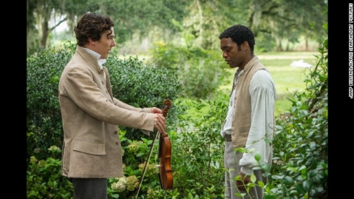 "Chiwetel Ejiofor and Benedict Cumberbatch from ""12 Years A Slave"""