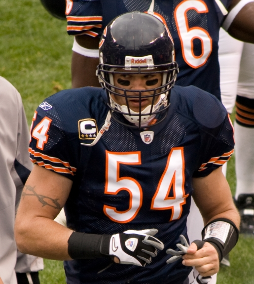 Brian Urlacher will no longer be a Chicago Bear or NFL player.