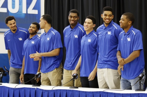 These seven players hope to be on NBA rosters in a few months.