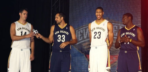 The New Boreleans Pelicans.