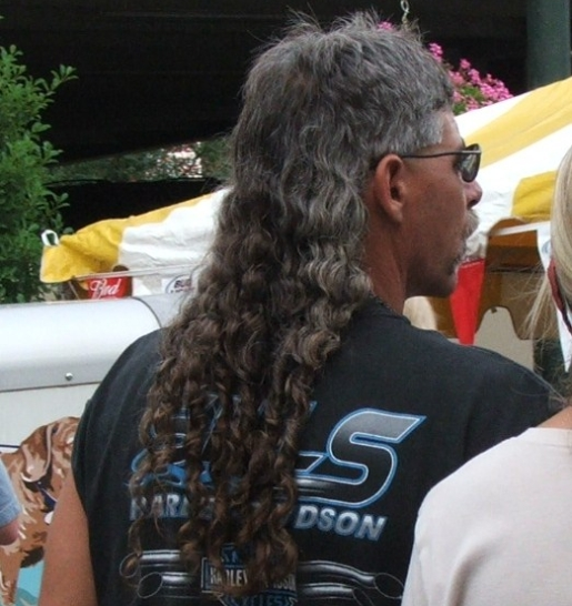 how to cut your mullet off
