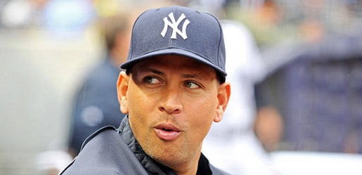 A-Rod puckers up to prepare to kiss baseball goodbye.