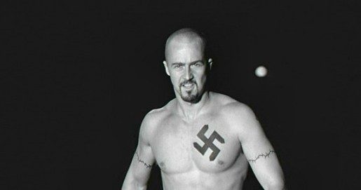 american-history-x-swastika-tattoo.jpg. Justice is supposed to be blind.