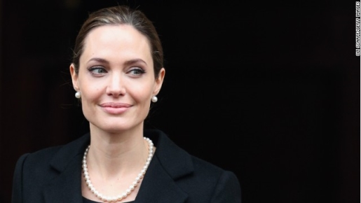 Angelina Jolie carries the breast cancer gene.