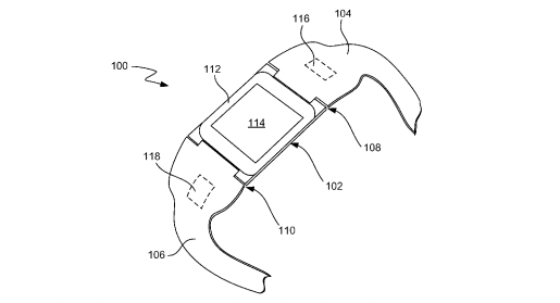 Apple's iWatch patent.