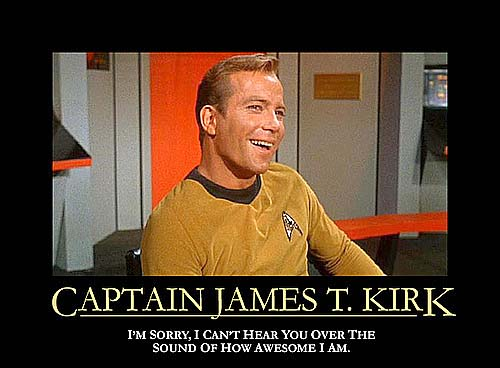 Awesome Captain Kirk
