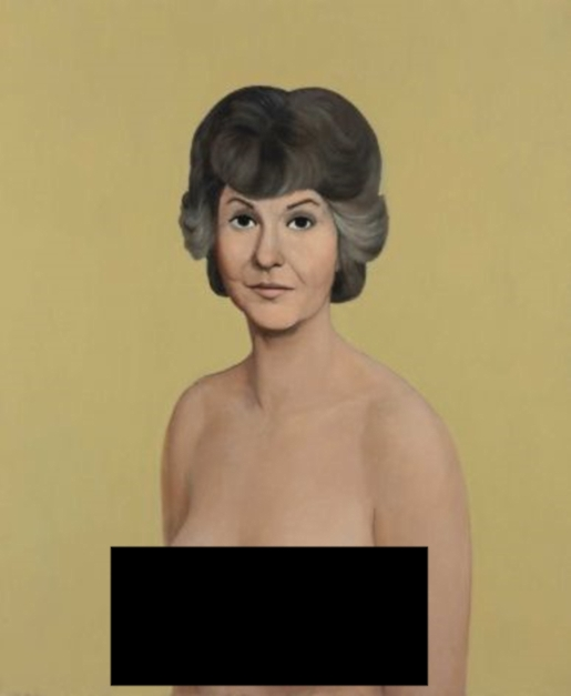 Censored Bea Arthur, for your protection and my sanity