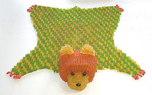 gummy bearskin rug