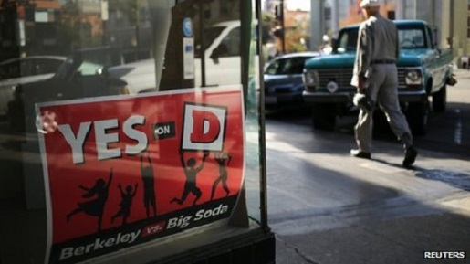 Prop D, the soda tax, has passed.