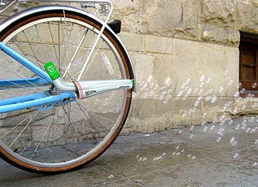 Bloom bicycle accessory
