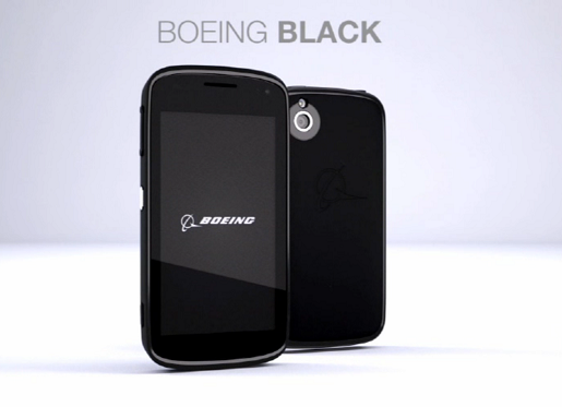 Boeing Black, a top-secret smartphone.