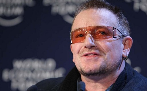 Poor old blind Bono.