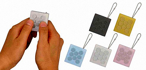 Puchipuchi Bubble Wrap Keychain