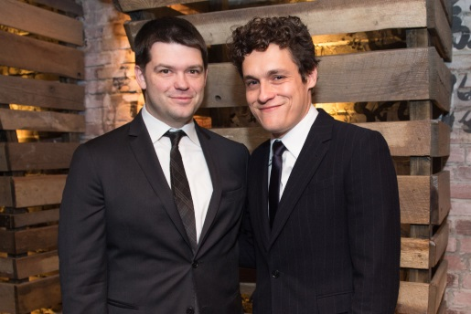 Chris Miller (left) and Phil Lord.  Two directors for a Solo movie.