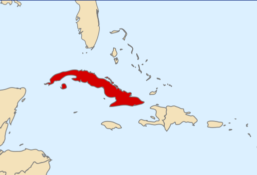 Cuba Florida Map.Woman To Swim From Cuba To Florida Popular Fidelity Unusual Stuff