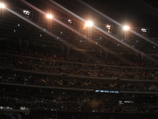 That's what happens when you don't pay the light bill, Washington Nationals.