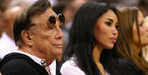 Clippers owner and accused racist Donald Sterling.
