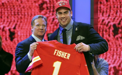 Eric Fisher, human giant and #1 NFL draft pick
