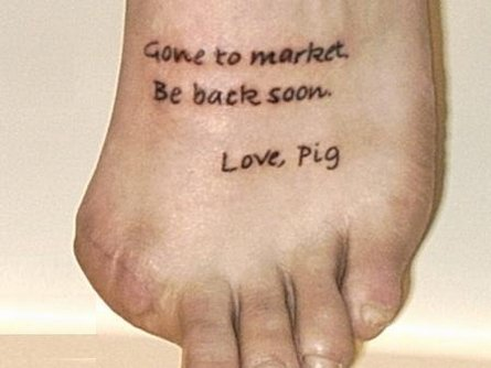 foot-tattoo.jpg. I imagine it would be horrible to lose a limb in some sort