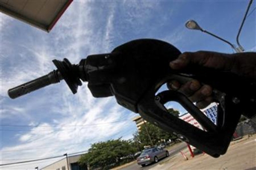 gas pump handle. Have you been to the gas pump