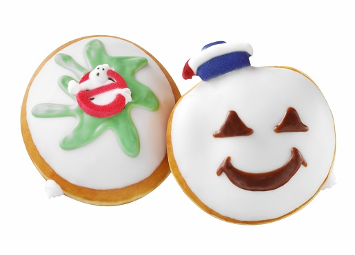 Krispy Kreme's salute to the Ghostbusters.