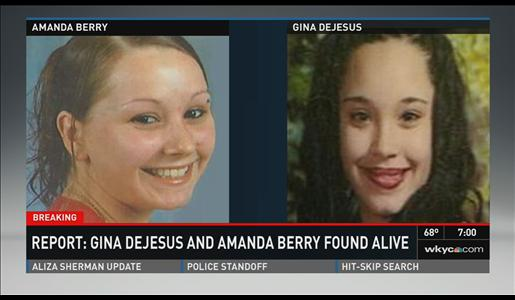 Gina DeJesus and Amanda Berry have been recovered after nearly a decade.