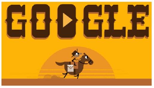 google-pony-express-doodle
