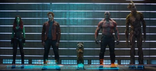 The Guardians of the Galaxy as shown in the trailer.