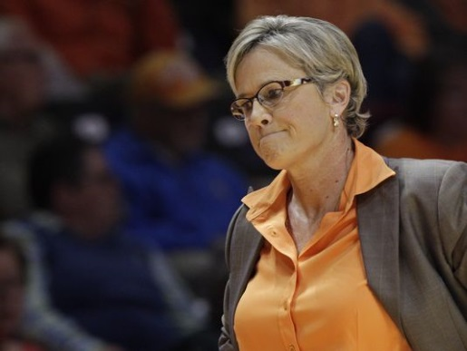 UT Lady Vols coach Holly Warlick, not warlock.