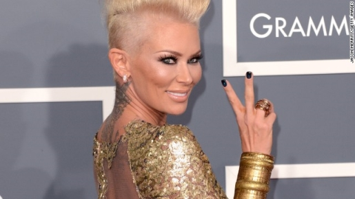 Jenna Jameson has been charged with battery,