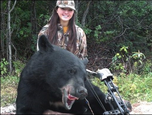 ... the other teen hunters who routinely shoots and kills dangerous animals ...