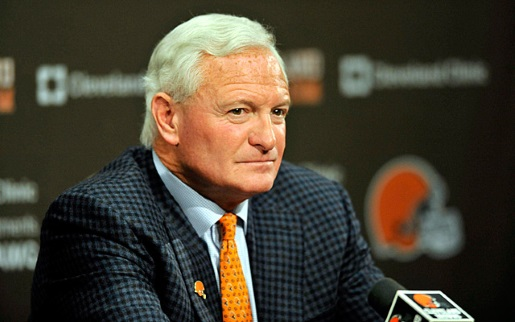 Trustworthy businessman Jimmy Haslam.