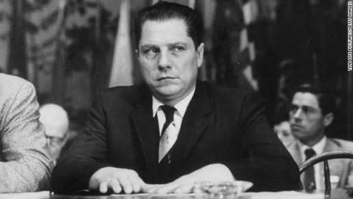 Famous union leader and missing person Jimmy Hoffa.