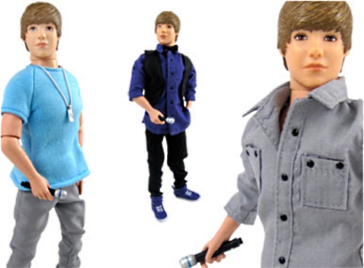 Now, like other teen idols, Justin Bieber is about to hit toy shelves with ...