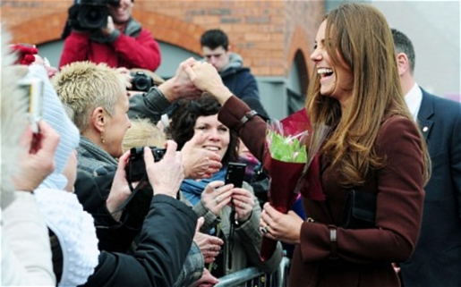 Duchess Kate expecting a little Duchess in her future?