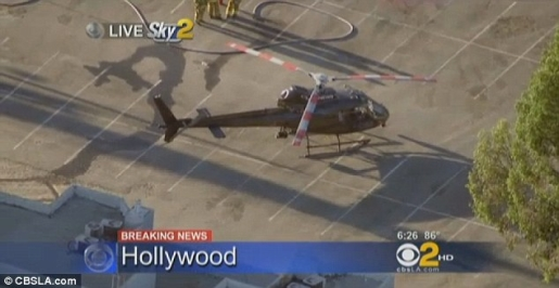 KTLA News Helicopter Makes Emergency Landing » Popular
