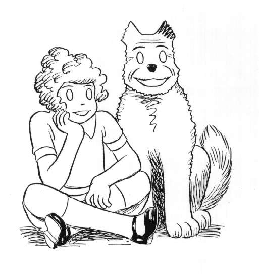 little orphan annie coloring pages - photo#10