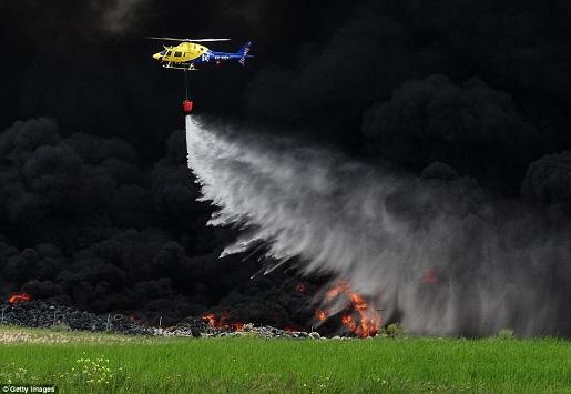 madrid-tire-fire