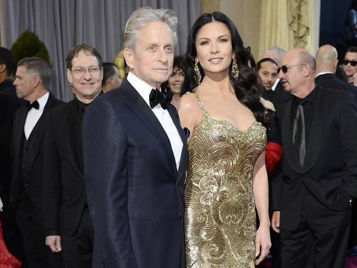 Michael Douglas and Catherine Zeta Jones are having marriage problems.