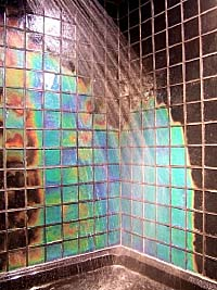 Color Changing Glass Tiles