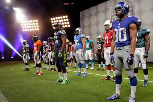 New Nike NFL Uniforms Seahawks