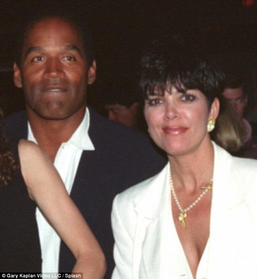OJ Simpson and Kris Jenner, pre-jail.