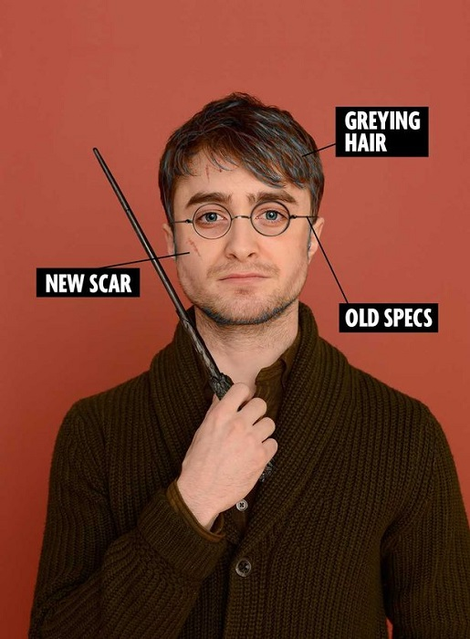 This is what 34-year-old Harry Potter looks like, apparently.