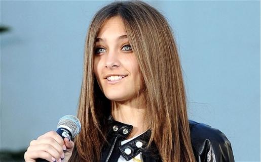 This is Michael Jackson's daughter Paris.