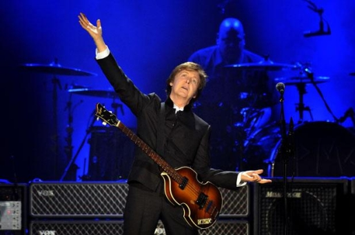 Bonnaroo headliner and 70-year-old man Paul McCartney.