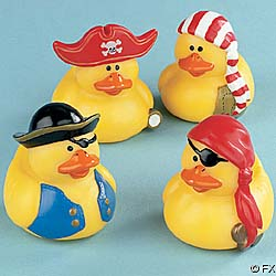 Pirate rubber ducky