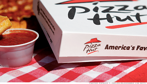 Pizza Hut is going by the slice.