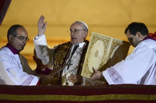 Jorge Mario Bergoglio of Argentina, AKA Pope Francis.