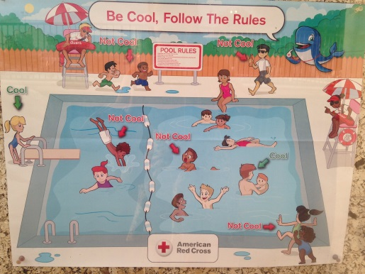 red cross racist poster