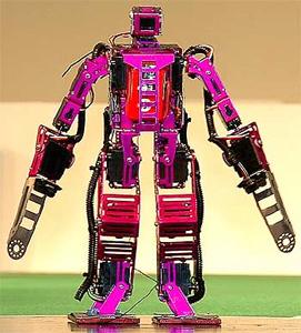 Fuschia Robot